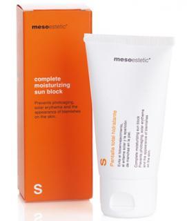 complete moisturizing sun block